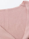 Women Long Sleeve Pink Sweater-Sweaters-BelleChloe