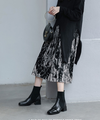 【HIGT QUALITY】 Small Size Women Round Toe Sock Short Boots - BelleChloe