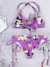 Floral Printed Summer Beach Vacation Swimsuit - BelleChloe