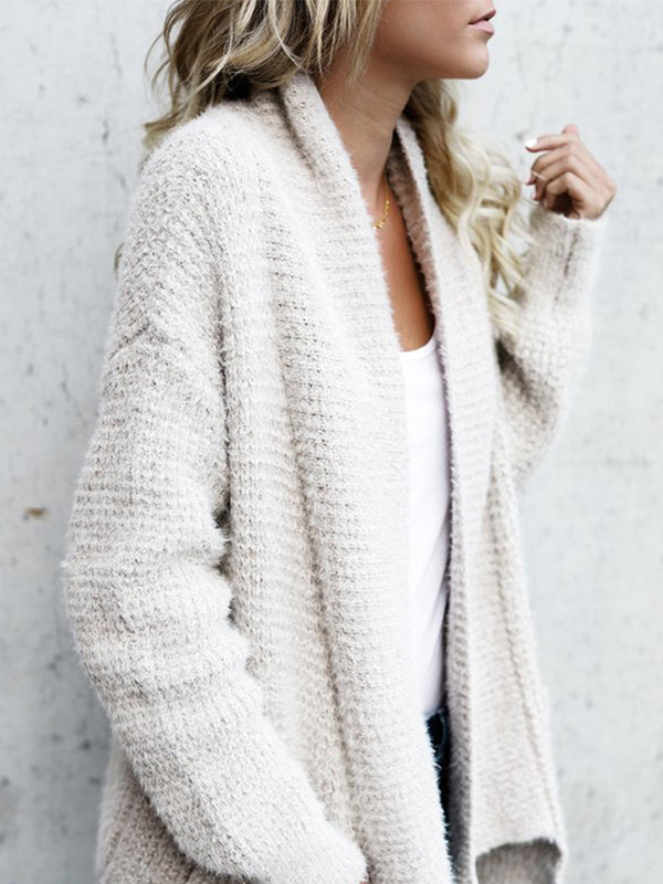 Thick Vintage Knitted Cardigan - BelleChloe