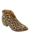 Leopard Pattern Autumn Winter Ankle Boots Chunky Boots