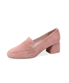 【HIGT QUALITY】Small Size Womens Comfortable Smooth Round Toe Loafers