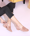 Fashion Runway Crystal Stretch Fabric Sock Boots