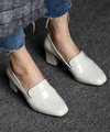 【HIGT QUALITY】 Small Size Womens Casual Round Toe Loafers