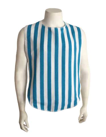 Adult Bib / Clothing Protector (Stripe)