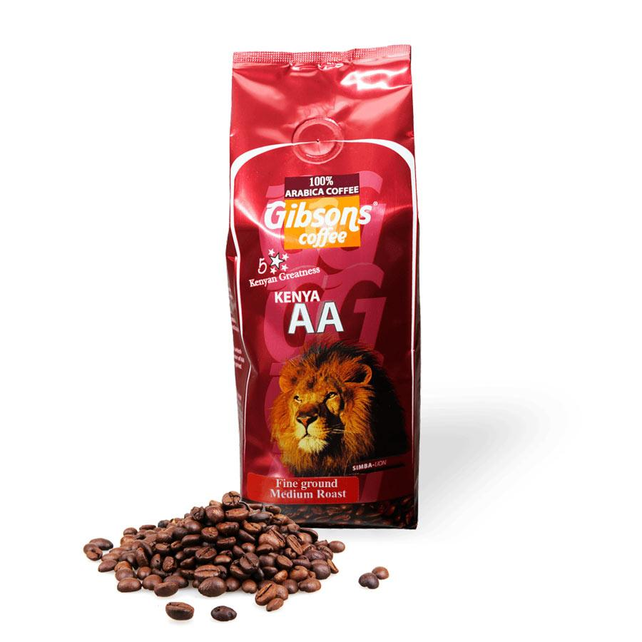 KENYA AA BEANS MEDIUM ROAST 250GM