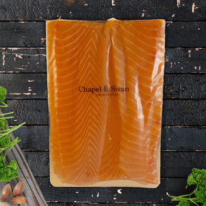 Sliced Oak Smoked Scottish Salmon - 400g