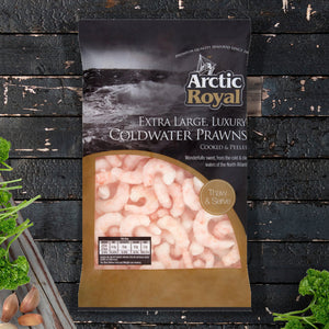 Extra Large Coldwater Prawns - 375g