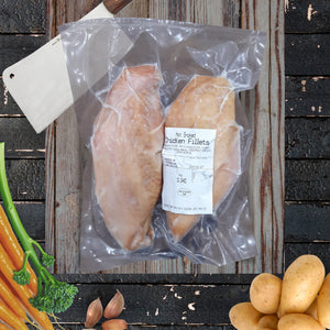 Hot Smoked Chicken Fillets - 2 pack