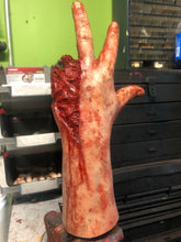 Load image into Gallery viewer, Mike Myers H40 silicone gunshot hand