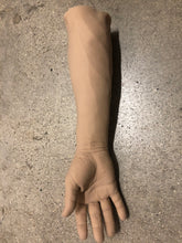 Load image into Gallery viewer, Solid Silicone male right arm unpainted