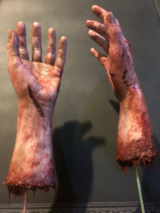 Silicone Zombie Arms