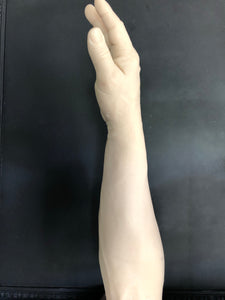 Solid Silicone male right arm unpainted