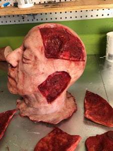 Severed head with magnetics