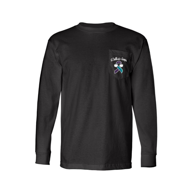 Long Sleeve T-Shirt with a Pocket