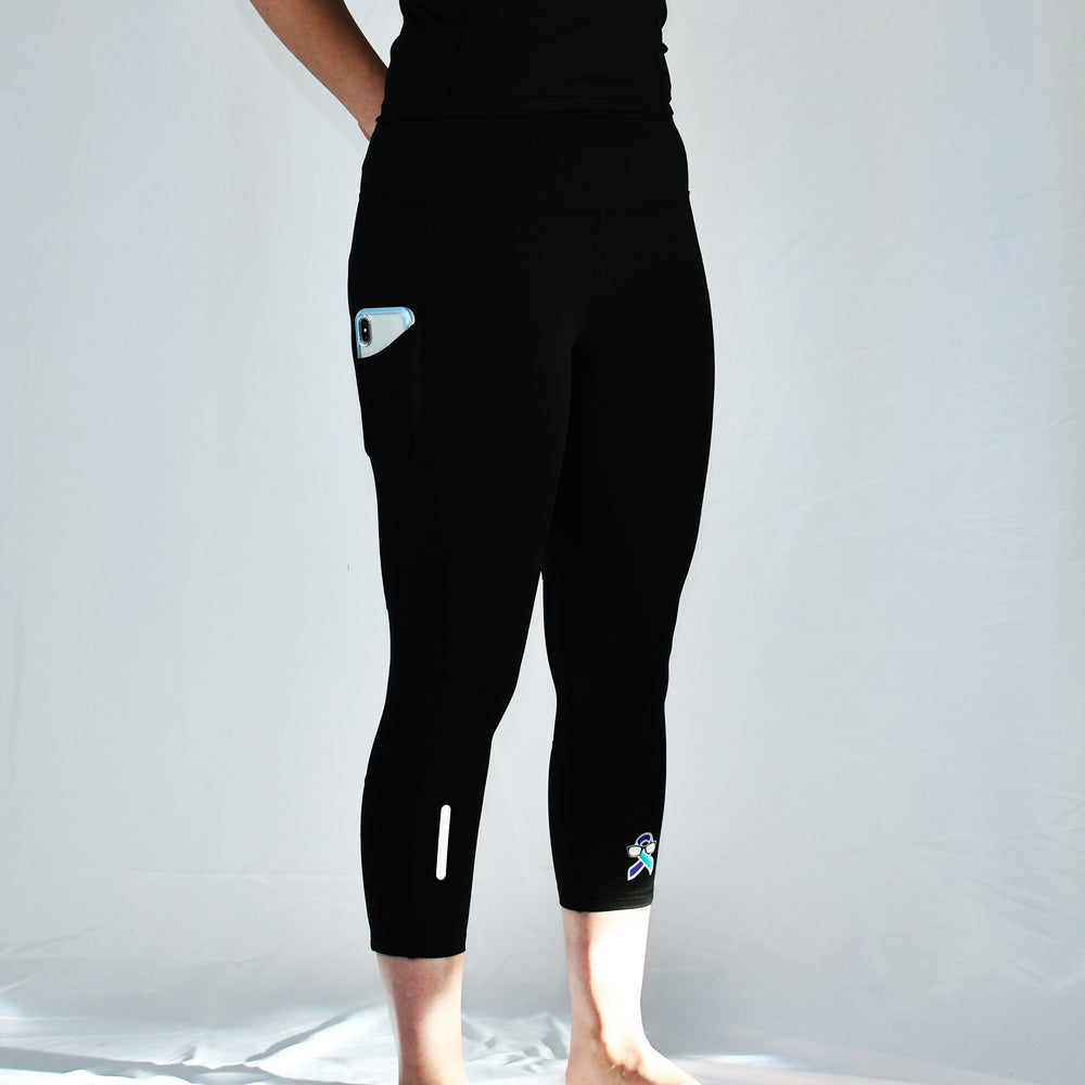 Women's Capri Legging with Side Pockets