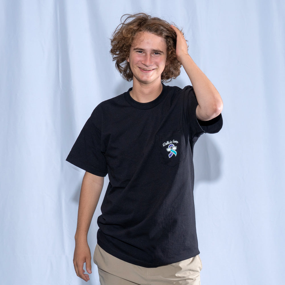 Men's Short Sleeve T-Shirt with a Pocket