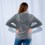 Women's Lightweight Hooded Full-Zip Tee