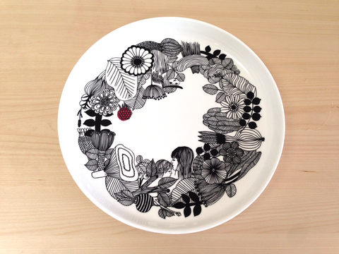 marimekko serving platter, big serving plate