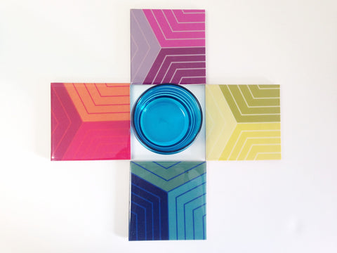 Modern Coasters, Set of 4