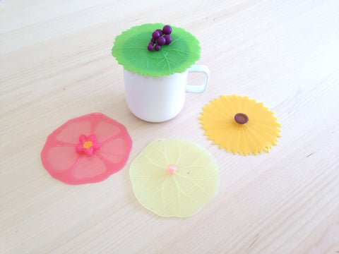 Drink Covers to keep tea, coffee, or wine fresh and free from pests.