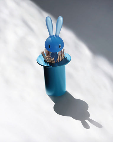 Alessi Toothpick Holder - Magic Bunny in Pink or Blue