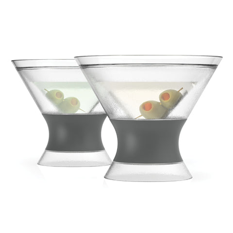 Host Freeze Martini Cooling Glasses, Set of 2