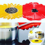 Charles Viancin Sunflower and Poppy Trivets/Potholders