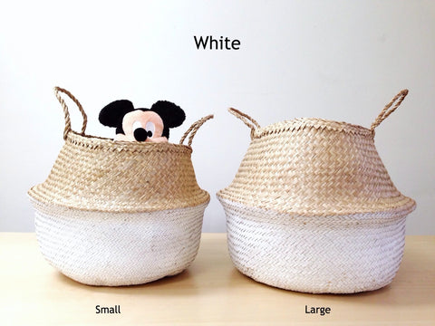 laundry basket, foldable sea grass basket, toy baskets, decorative baskets