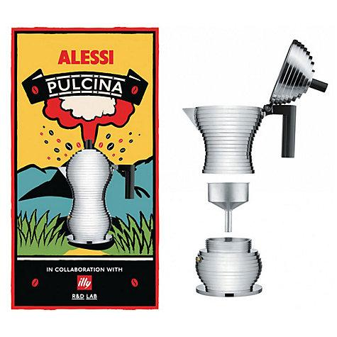 Alessi Espresso Coffee Maker--Pulcina, espresso maker, induction espresso maker, italian espresso maker, italian coffee maker