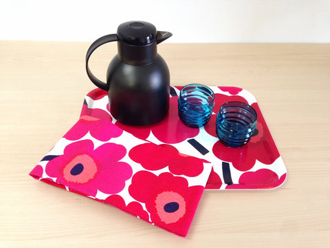 Marimekko Unikko Set of 2 Tea Towels--4 colors