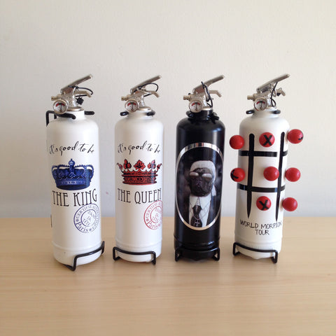 Decorative Working Fire Extinguishers by Fire Design
