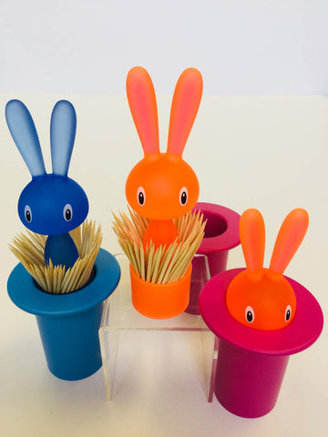 Alessi Magic Bunny Toothpick Holder, Easter Toothpick Holder