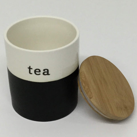 Ceramic Tea Canisters