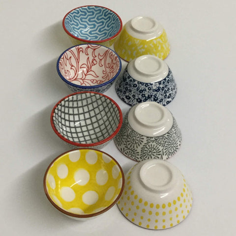 "Creative Co-op 2.5"" Pinch Bowls-- Set of 4"