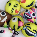 Emoji Scented Backpack Charms