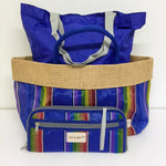 Rainbow Tote With Bonus Convertible Clutch (Set of 2)