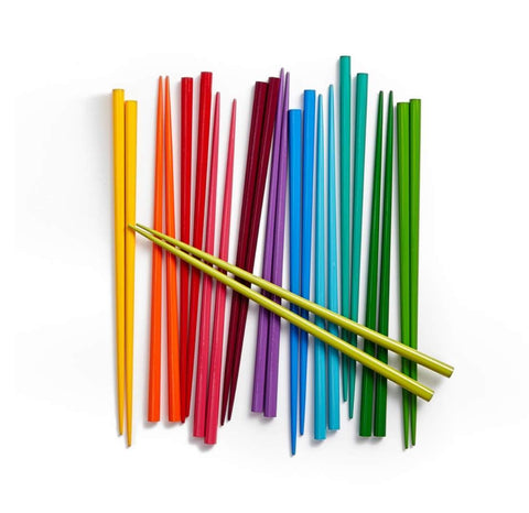 MOMA rainbow chopsticks, Colorful chopsticks