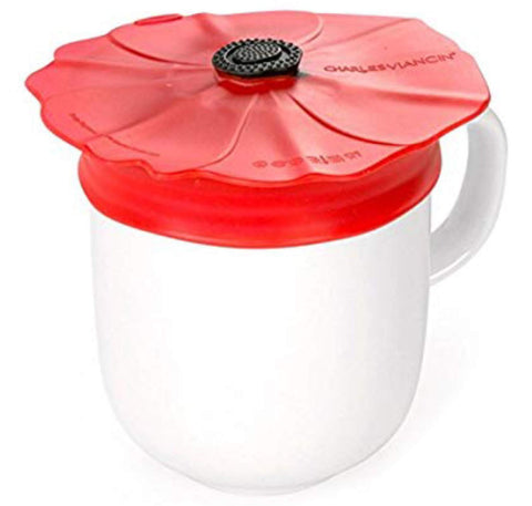Charles Viancin Poppy Pop Spill-Proof Drink Covers