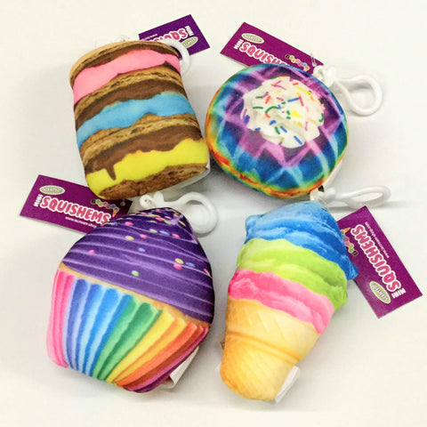 Rainbow Sweets Backpack Charms