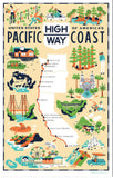 Vintage Kitchen Towels - all about California!