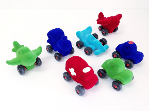 Soft foam rolling vehicles for babies, soft foam rolling vehicles for toddlers, soft foam cars for babies and toddlers