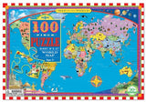 100pc World Map Puzzle