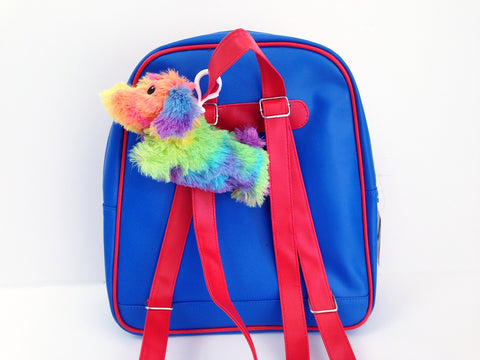 Tie Dye Doggie Backpack Charm by IScream