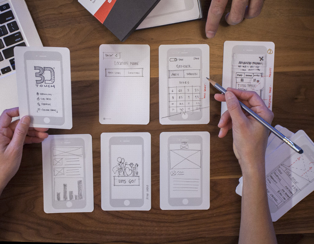 UX Index Cards