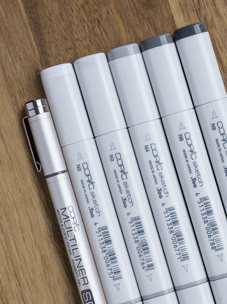 Copic Markers 6 Pack