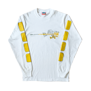 Happy Trail Long Sleeve White