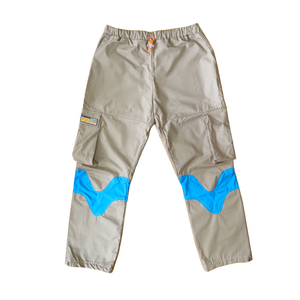 Happy Trail Pants Khaki/Blue