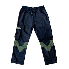 Load image into Gallery viewer, Happy Trail Pants Black/Green