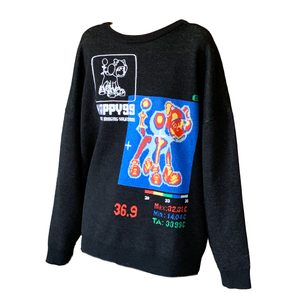 ☻Thermal Vision☻ Oversized Wool Knit Sweater